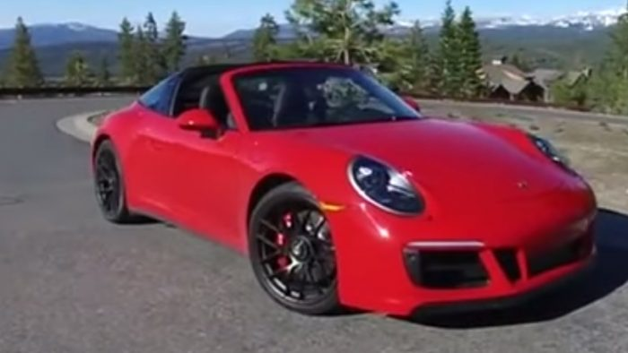 A Short Walkthrough of a 2017 Porsche 911 Targa 4 GTS