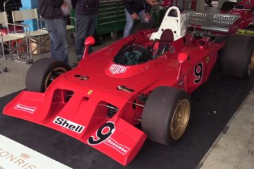 There's No Better Sound Than the Sound of a 1972 Ferrari 312 B3's Engine