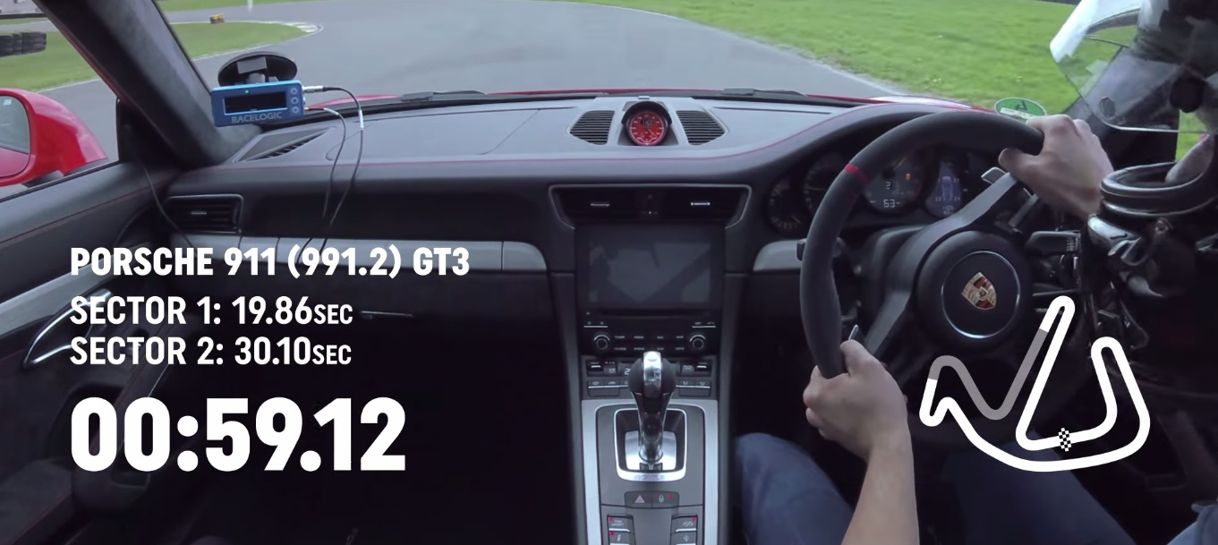 A Porsche 911 GT3 Cruises Anglesey Circuit for a Very Fast Lap