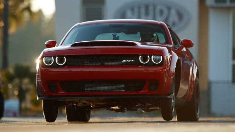 A Dodge Challenger SRT Demon is Priced at a Ridiculous $85,000