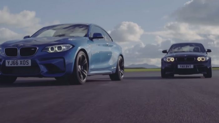 Chris Harris Pits the BMW M2 and BMW 1M Coupe Against Each Other