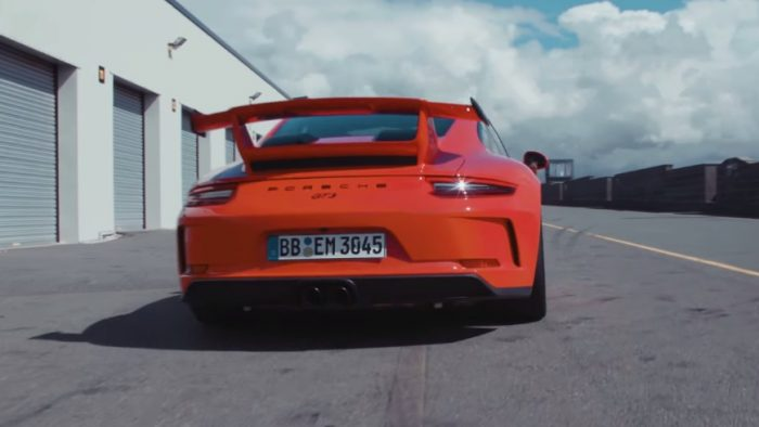 Let's Get Loud With this Porsche 911 GT3!