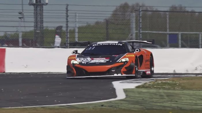 Re-live Some of the Best Moments of the McLaren 650S GT3 at Silverstone