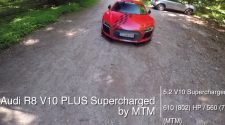Supercharged Audi R8 V10 Plus by MTM Test Drive
