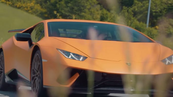 Turn Up Your Speakers For the Extremely Loud Lamborghini Huracan Performante