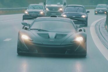 Behind the Scenes Footage of McLaren P1 LM's Historic Lap Record at Nurburgring