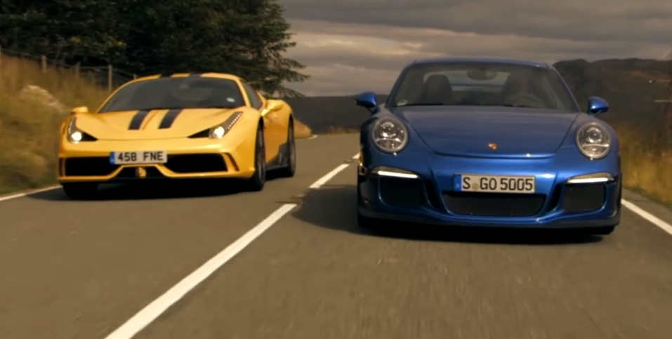 Ferrari 458 Speciale and Porsche 911 GT3 - Review and Comparison