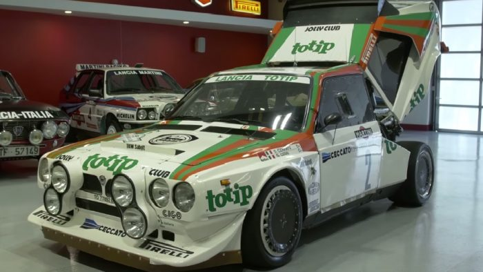 Be Amazed at This Powerful Lancia Delta S4