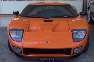 A Rare Footage of a Ford GT 720 Mirage Showing Off in Monaco
