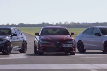Alfa Romeo Giulia Quadrifoglio vs BMW M3 Competition Pack vs Mercedes-AMG C63 S: The Final Part