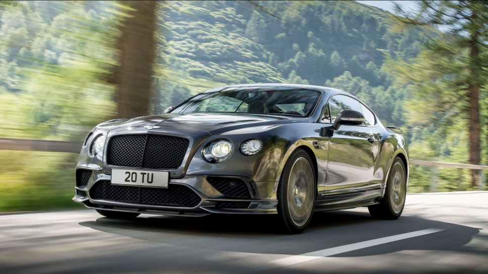 The Top 10 Fastest Cars of 2017 - 2017 Bentley Continental Supersports