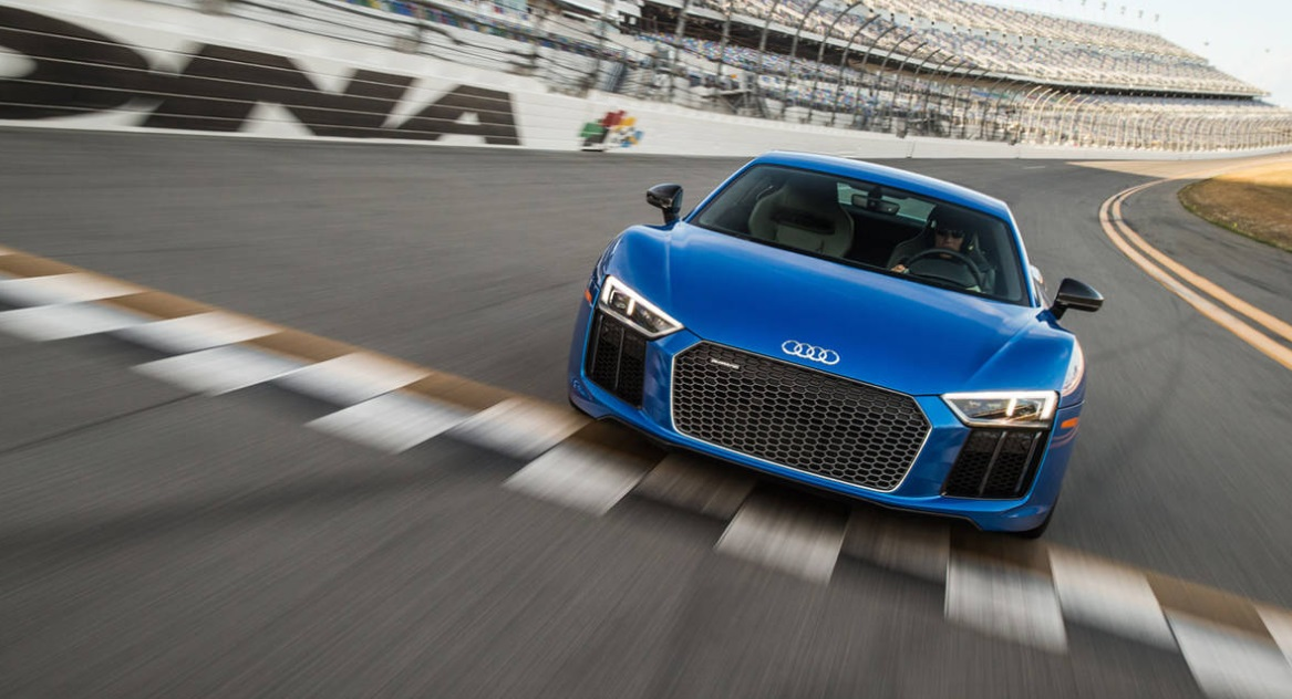 The Top 10 Fastest Cars of 2017 - 2017 Audi R8 V10 Plus