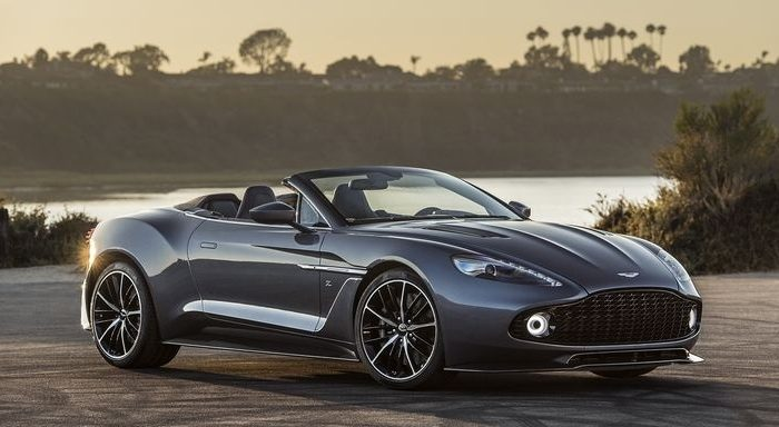 Image result for rm london 2018 Aston Martin Vanquish Zagato Roadster