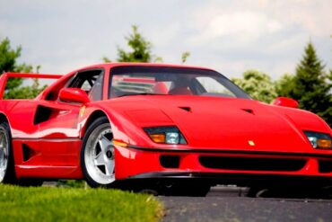 1989 Ferrari F40 in Bright Red