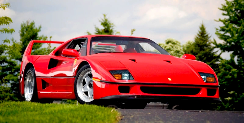 Ferrari F40 The Icon The Classic The Revered Supercars