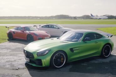 Merc-AMG GT R vs 911 GT3 RS vs BMW M4 GTS Showdown