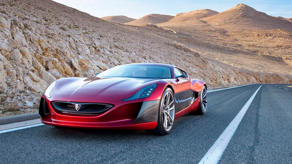 The Rimac Concept One Finally Gets Tested on US Soil