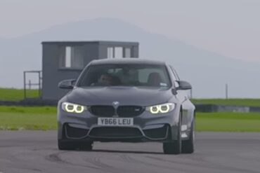 Testing the Speed of the BMW M3 Competition Pack in Anglesey