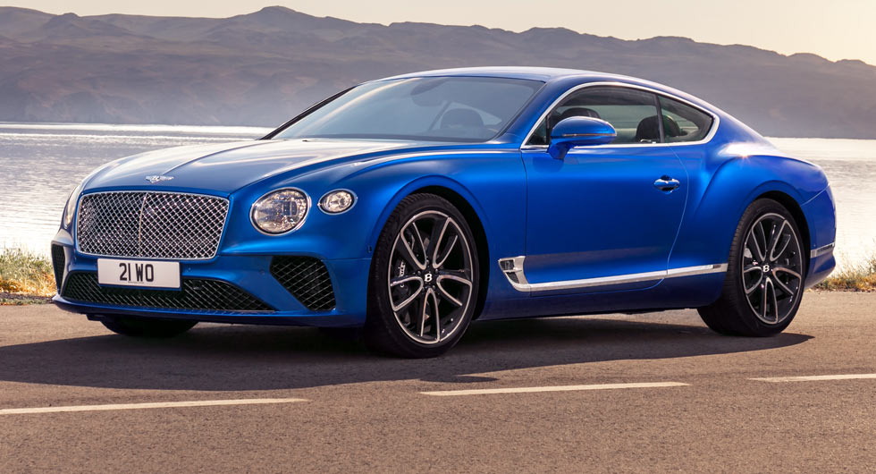 The King Of Luxury Cars Is Here The New Bentley Continental Gt
