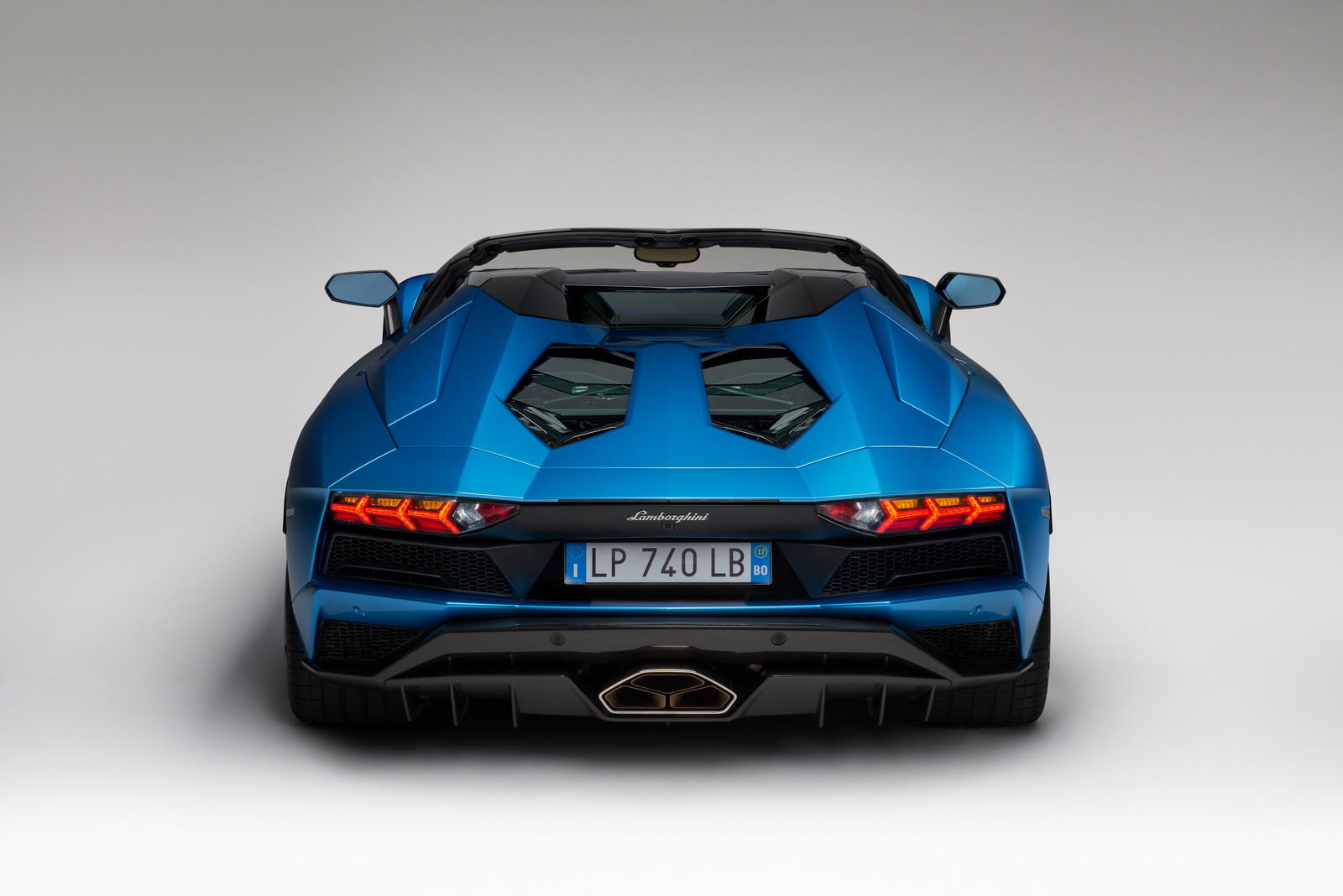First Lamborghini Ever Made >> Lamborghini Reveals the 2018 Aventador S Roadster Before its Official Debut