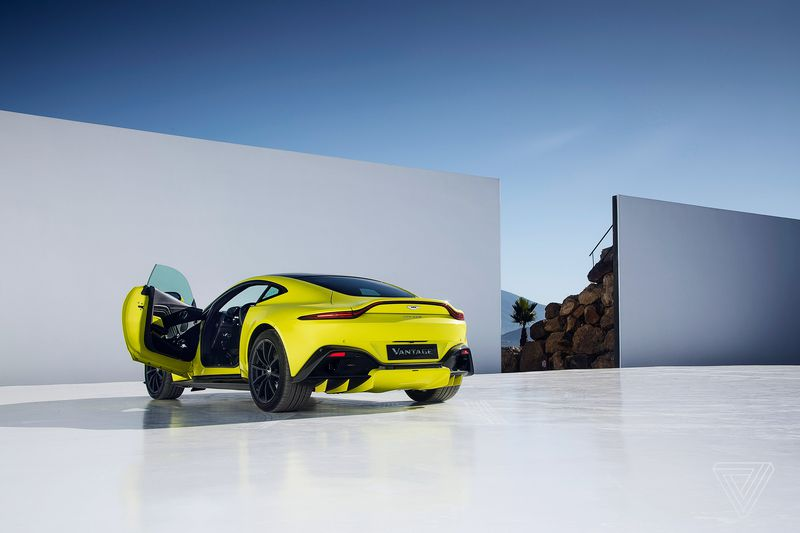 New Aston Martin Vantage Door Open