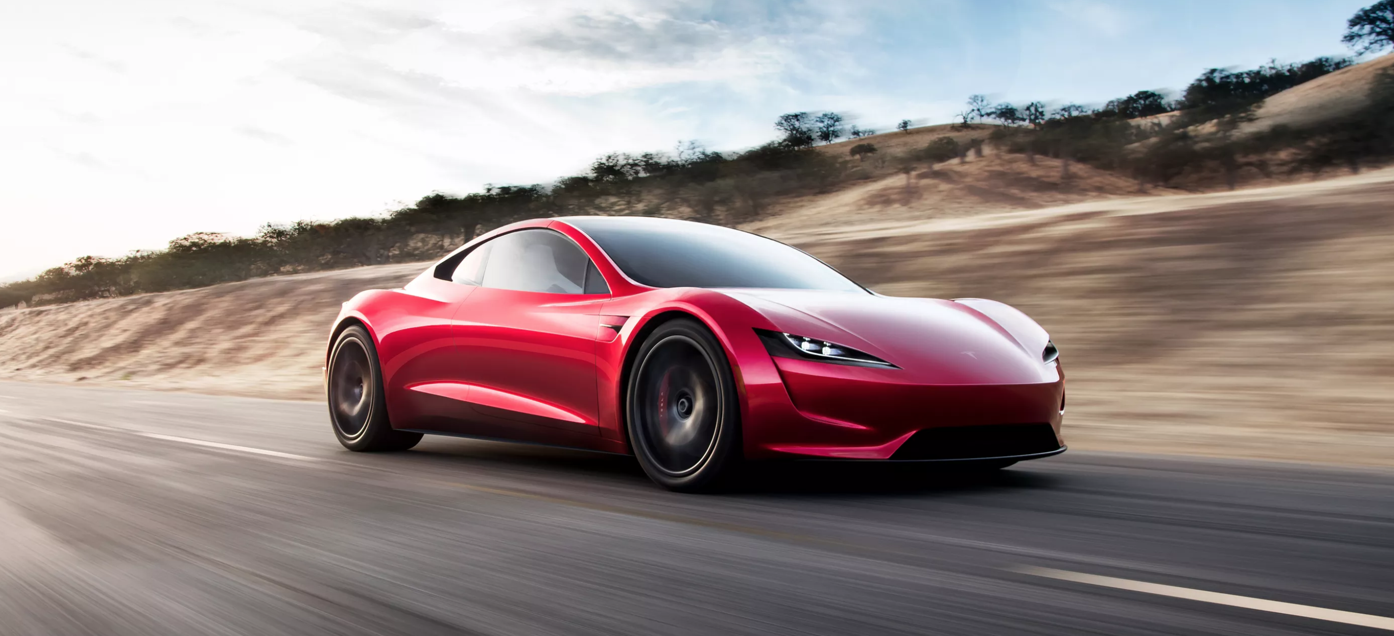 fastest car tesla roadster