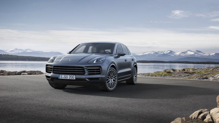2019 Porsche Cayenne, as unveiled at the Montreal International Auto Show, Canada, in January 2018