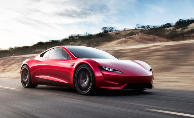 Tesla Roadster  Fastest Car