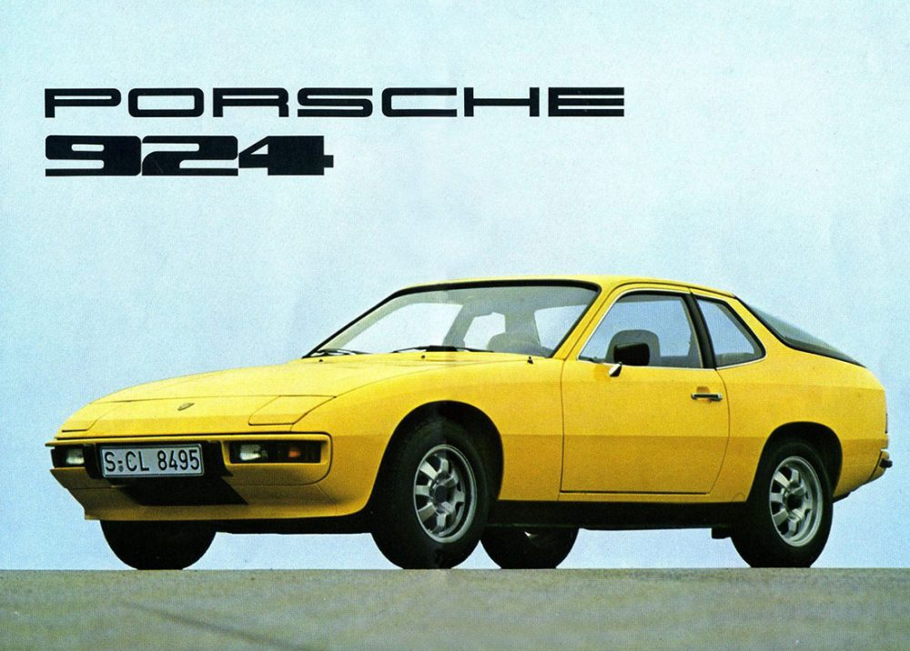 Early Porsche 924 Ad