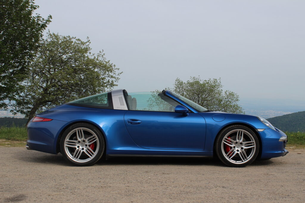 911 Targa 4 and 4S (2014–2015)