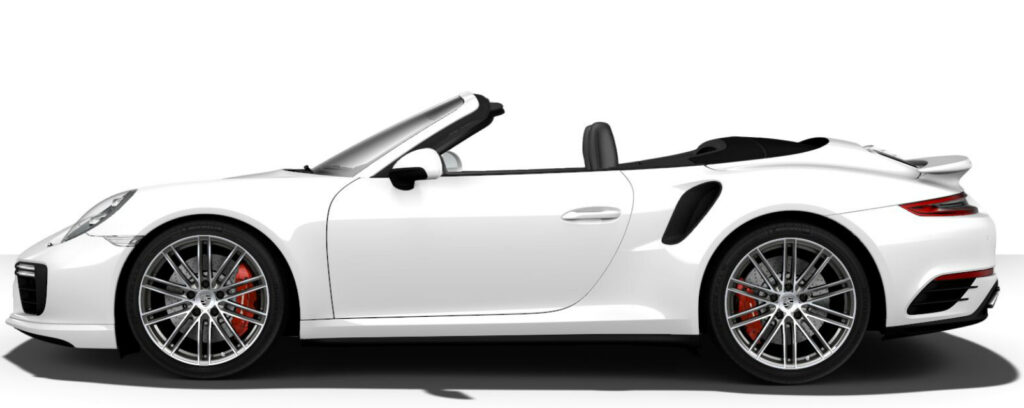 911 Turbo Cabriolet Side