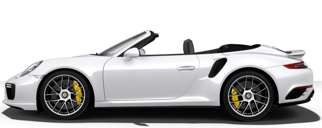 911 Turbo S Cabriolet Side