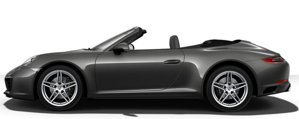 Carrera 4 Cabriolet Side