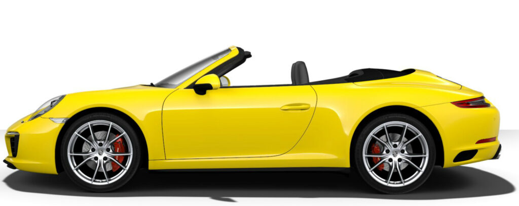 Carrera 4S Cabriolet Side