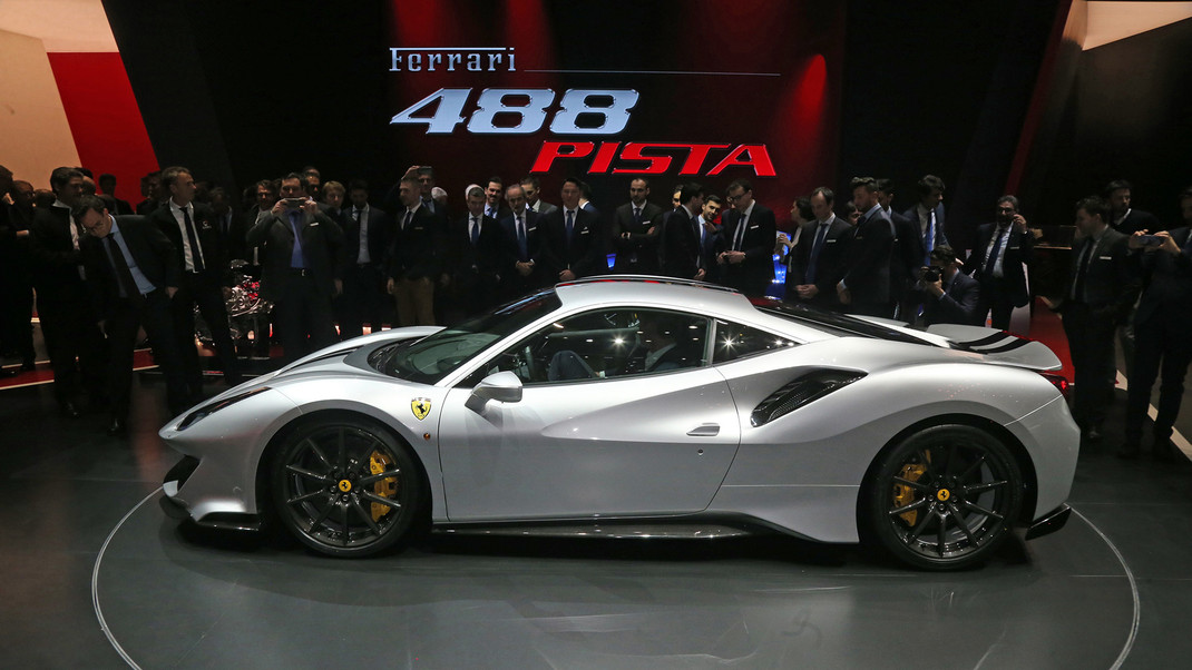 2019 Ferrari 488 Pista Ferrari S Most Powerful V8 Ever