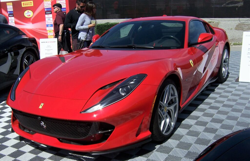 Ferrari 812 Superfast Red