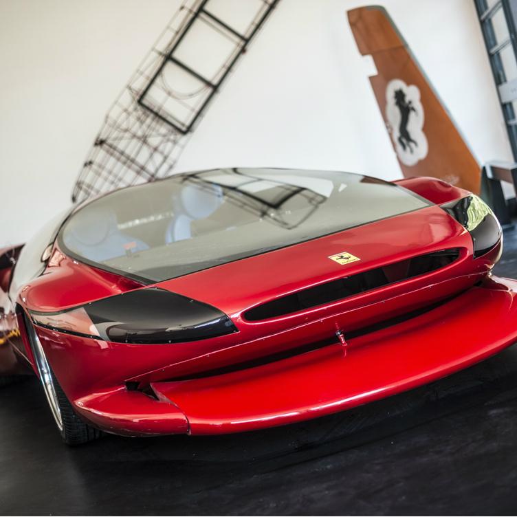 Colani Ferrari Testa dOro