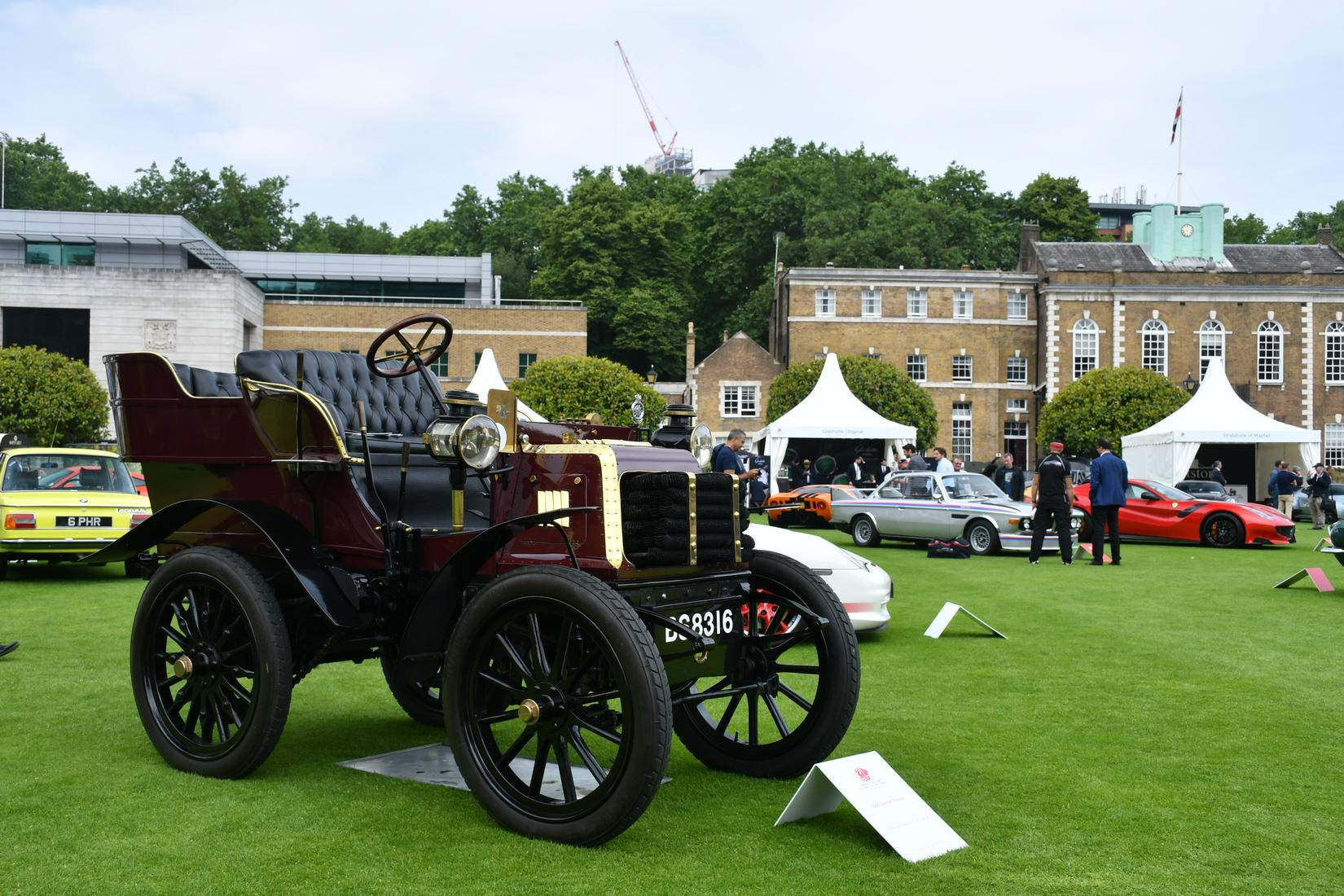 Cars of London Concours 2018