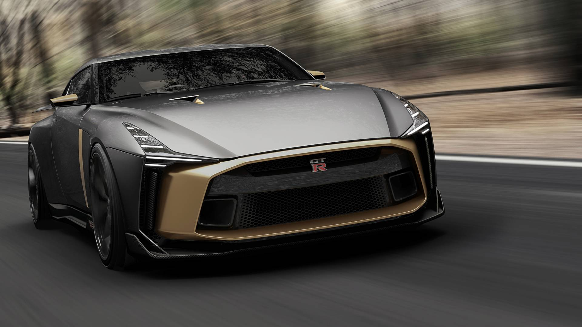 2019 Nissan GT-R50 by Italdesign: Celebrate 50 Years of GT-R