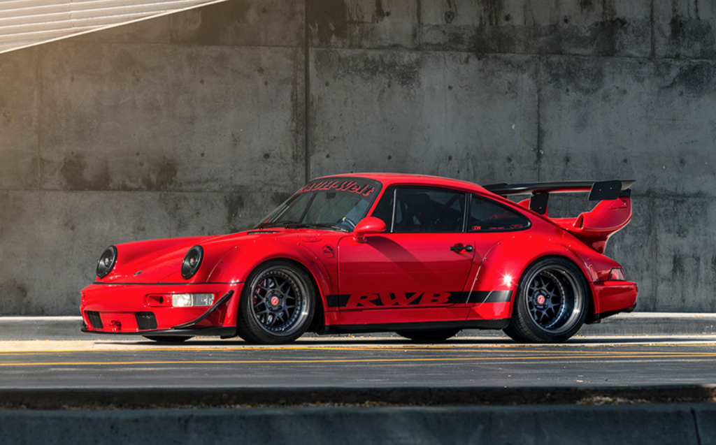 RWB 1989 Porsche 911 Carrera 4 Coupe