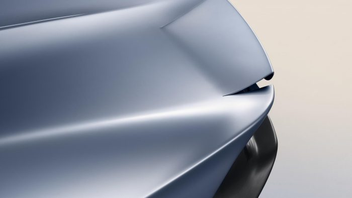 McLaren Speedtail Rear Ailerons