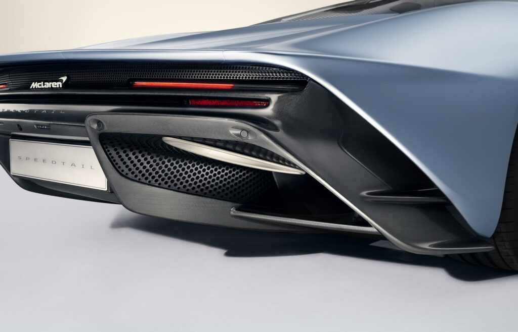 McLaren Speedtail Rear End`