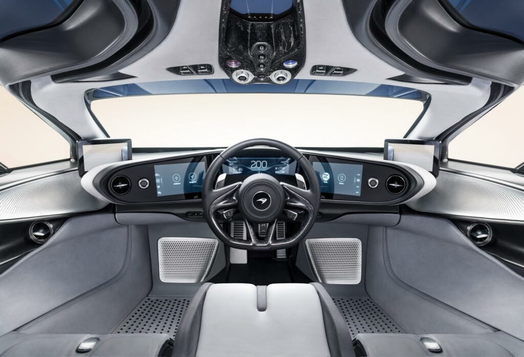 McLaren Speedtail Interior