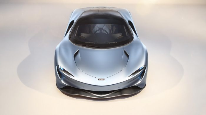 McLaren Speedtail Front End