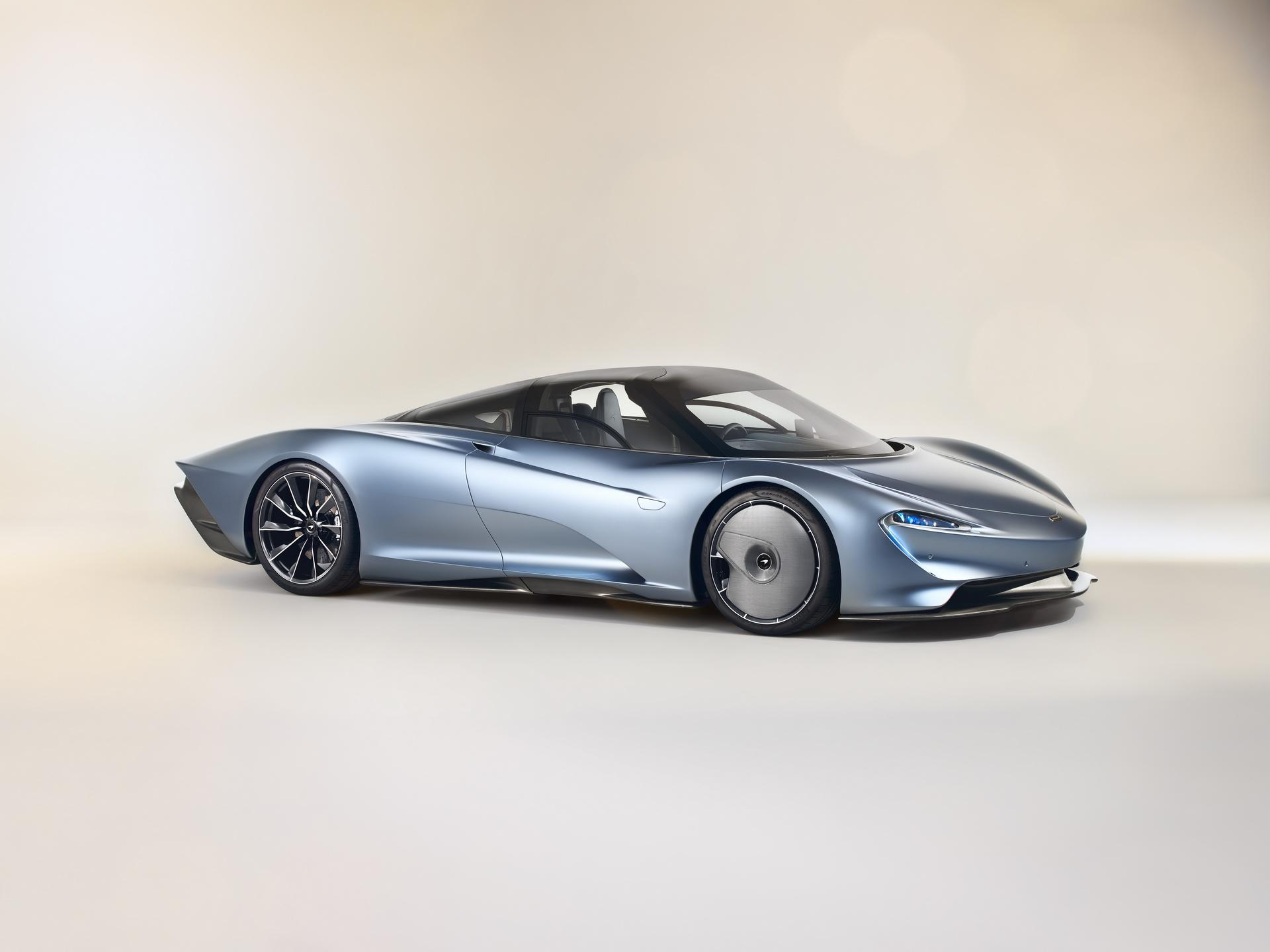 McLaren Speedtail Front-Right 3/4