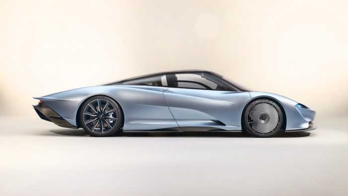 McLaren Speedtail Side Profile