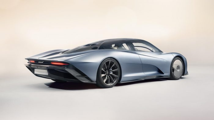McLaren Speedtail Rear 3/4 View