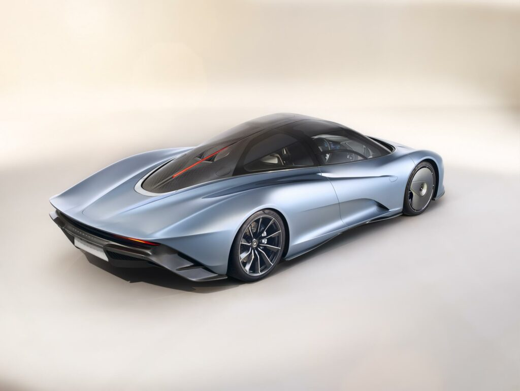 McLaren Speedtail Rear 3/4