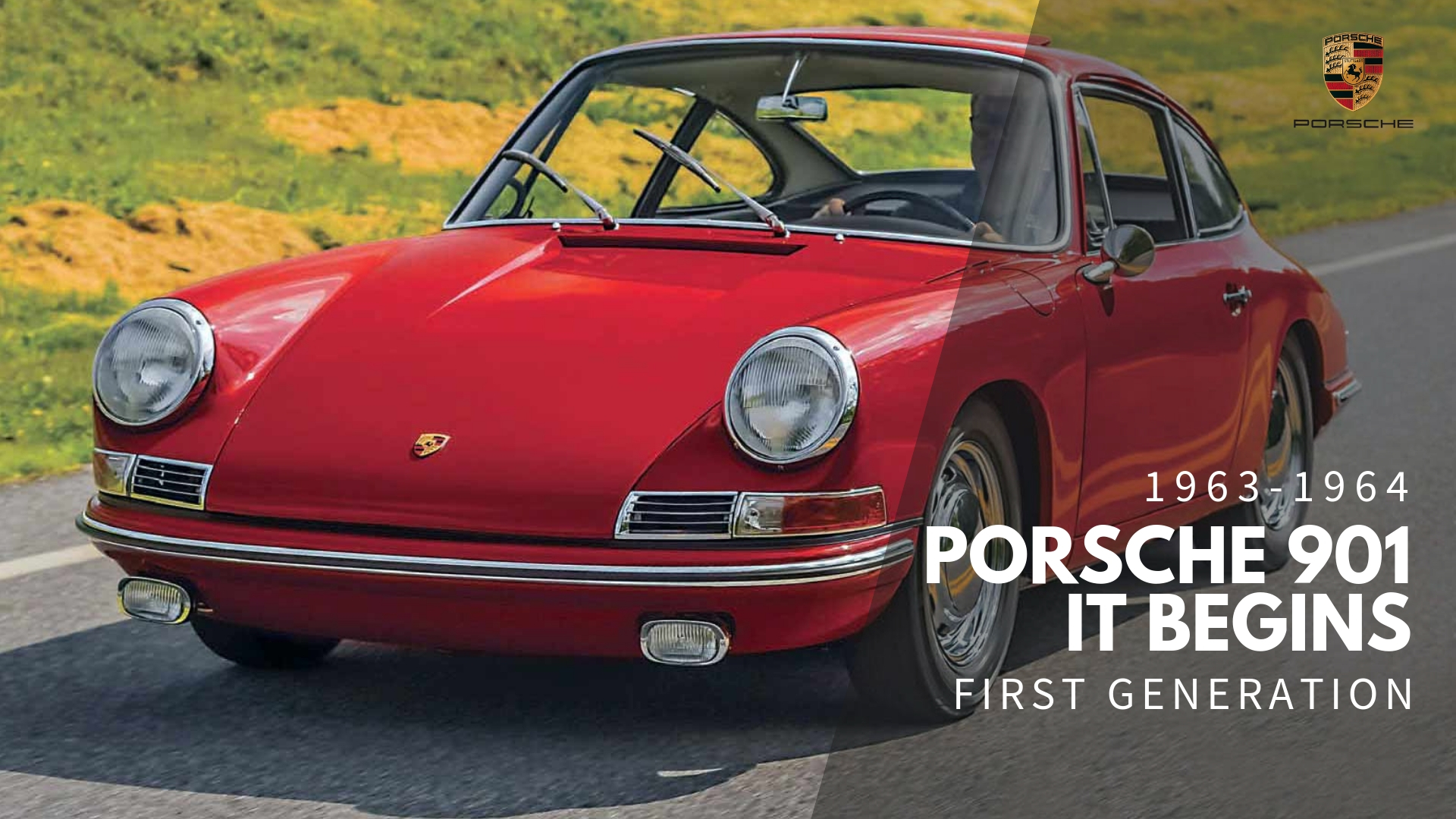 Porsche 901 - The Original (1963-1964)