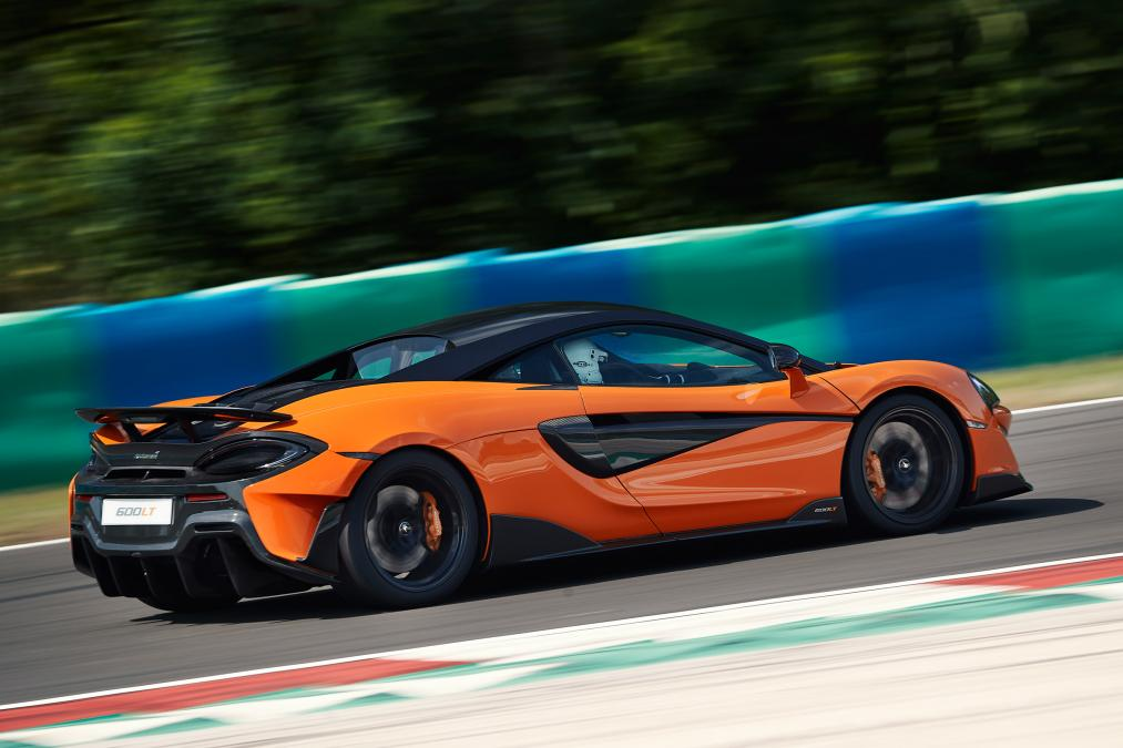 2019 McLaren 600LT side view